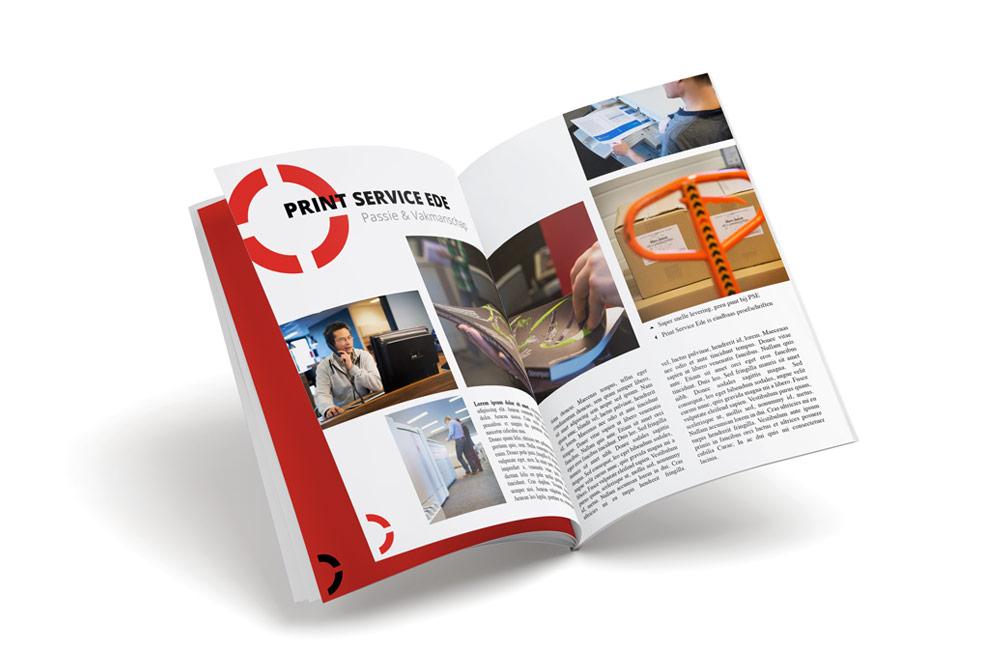 brochures en tijdschriften drukken
