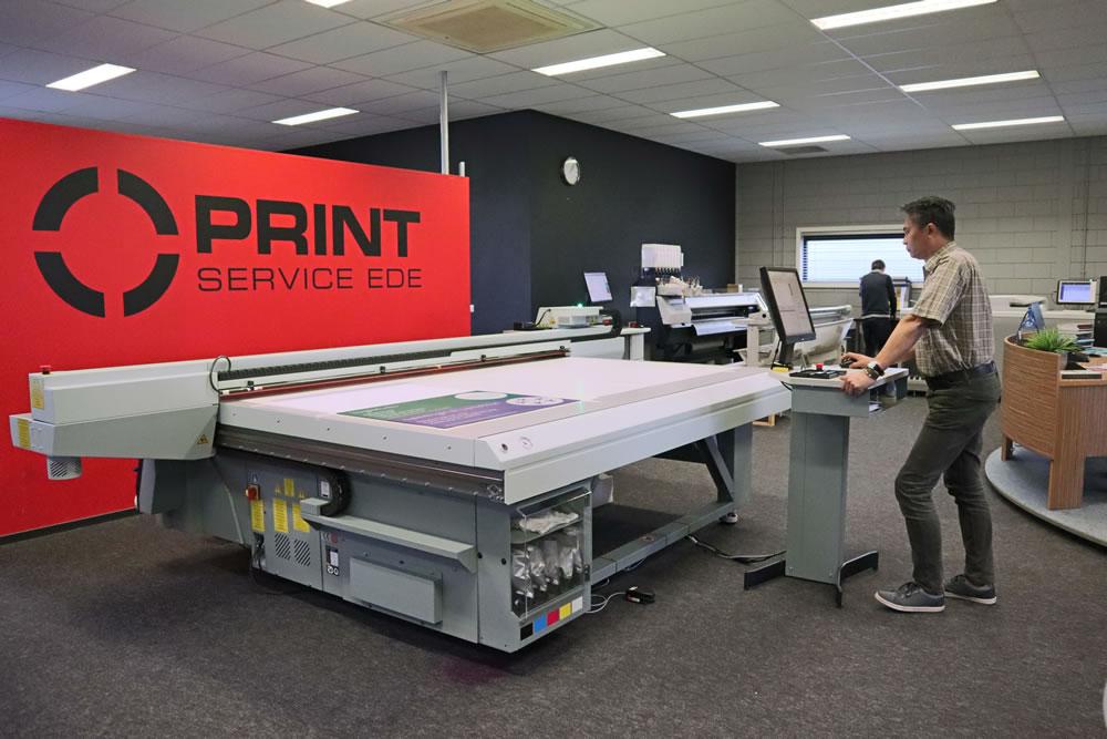 Plaat printen